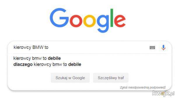 Google wie, tylko nie rozumie dlaczego
