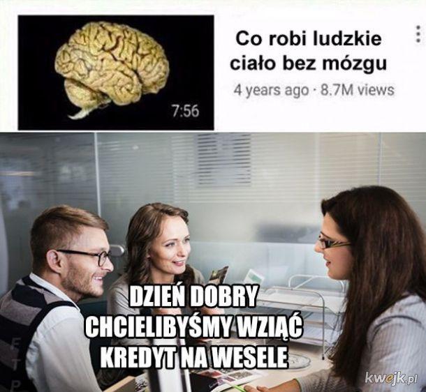 Ludzkie ciało bez mózgu