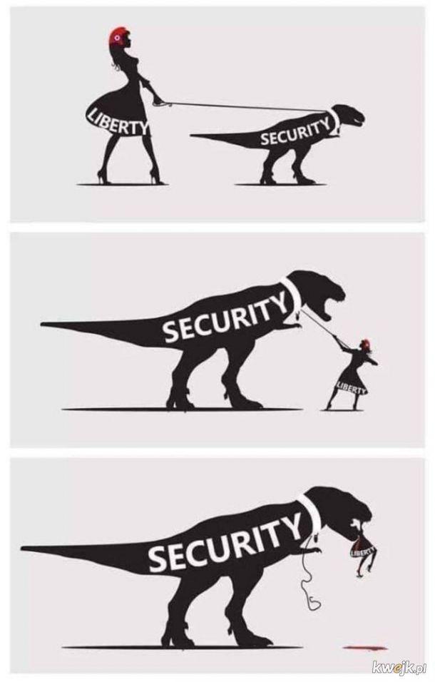 Wolność kontra bezpieczeństwo