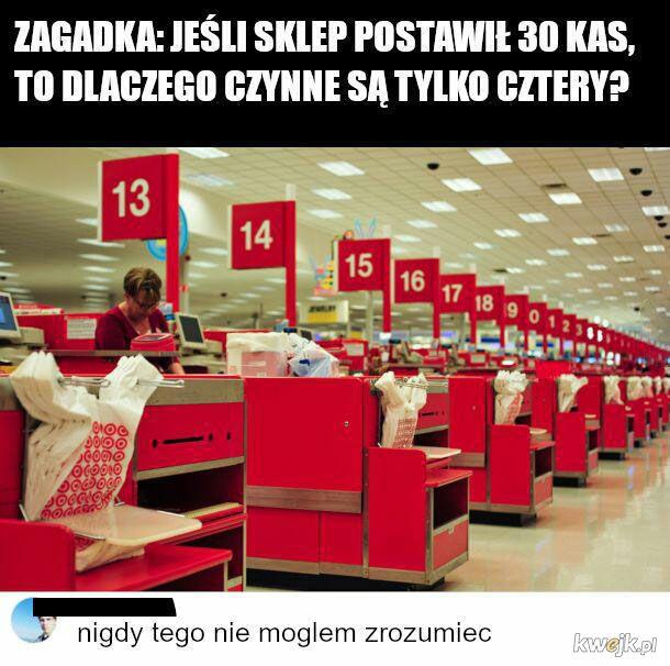 Kasy w sklepach