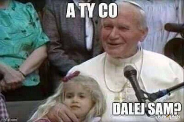 Nie podejrzewałem papcia o to...