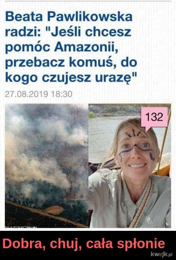 Przebaczenie to oznaka słabości. Sorry Amazonia!