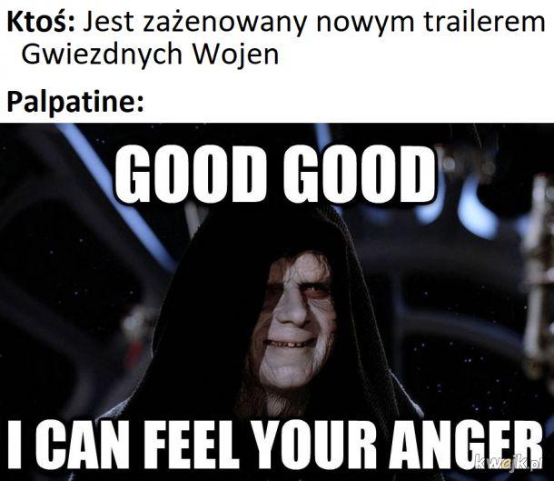 """Tak... Tak... Powiedz czego się spodziewasz po kontynuacji """"Ostatniego Jedi""""..."""