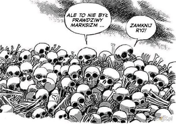 I tak ludzka twarz socjalizmu znów okazała się organem zgoła odmiennym...