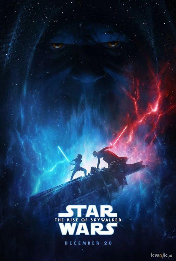 """Oficjalny plakat IX części """"Gwiezdnych Wojen"""""""