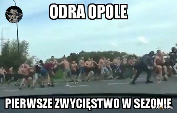 Odra Opole kibice