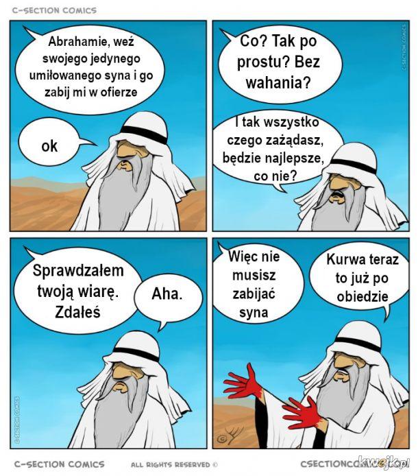 Abrahamie masz bojowe zadanie