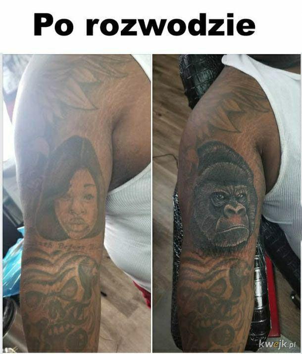 Tatuaż rozwodowy