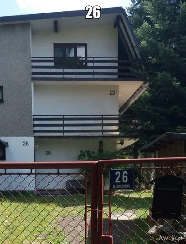 Jakby ktoś nie wiedział to numer tego domu to 26