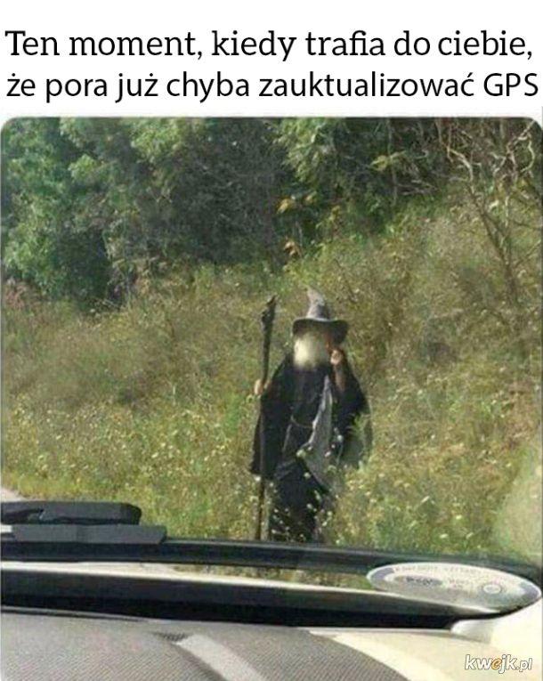 GPS nie teges...
