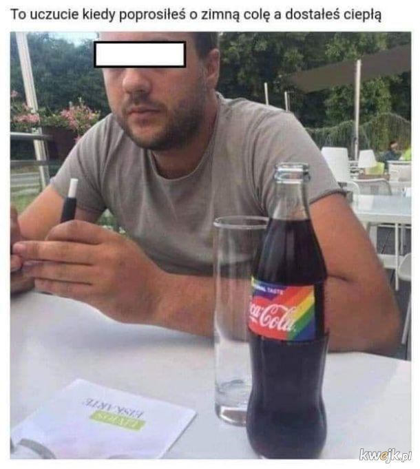 Ciepła cola