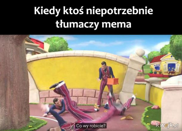 Tłumaczenie mema