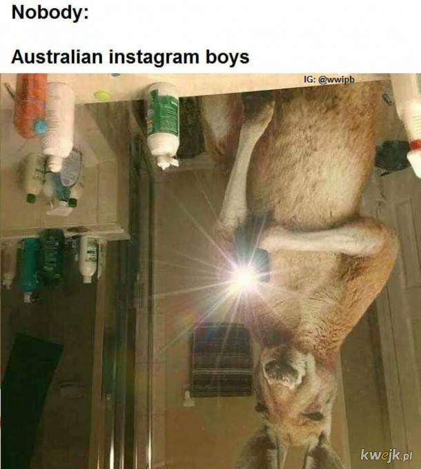 Australijski Instagram