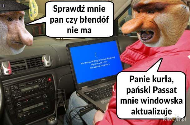 Janusza Passat u mechanika