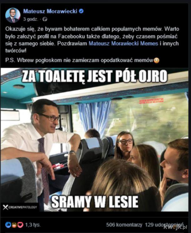 Morawiecki i memy