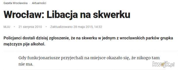 Rocznica najsłynniejszej libacji w Polsce