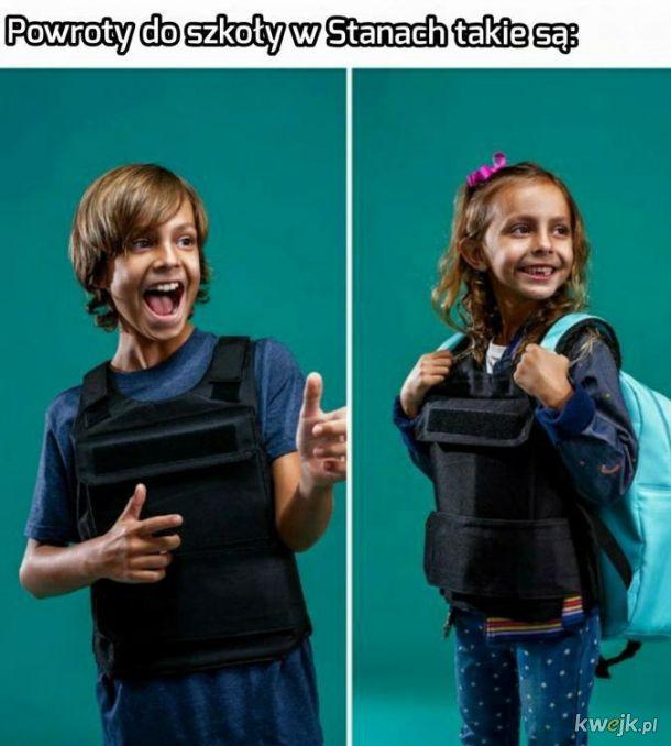 Powrót do szkoły w USA