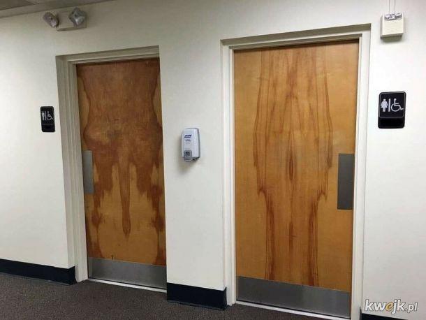 Ciekawy design drzwi