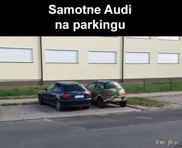 Samotne Audi