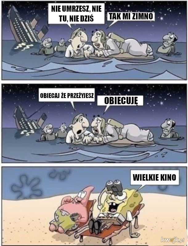 Film zza oceanu - Tytanik
