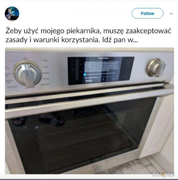 Piekarnik połączony z internetem