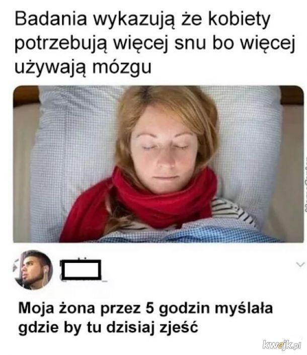 Więcej snu