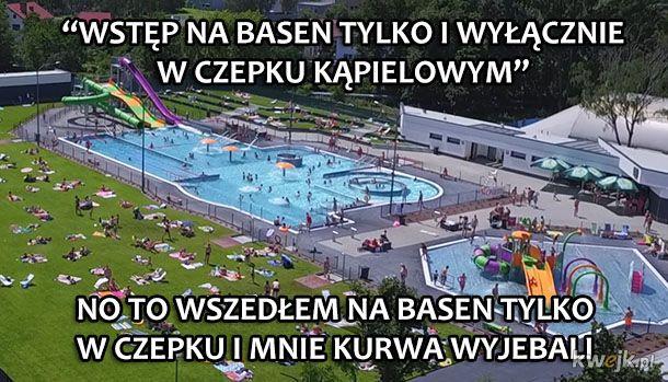 Wstęp na basen