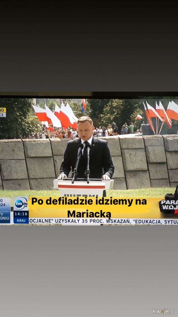 Defilada w Katowicach