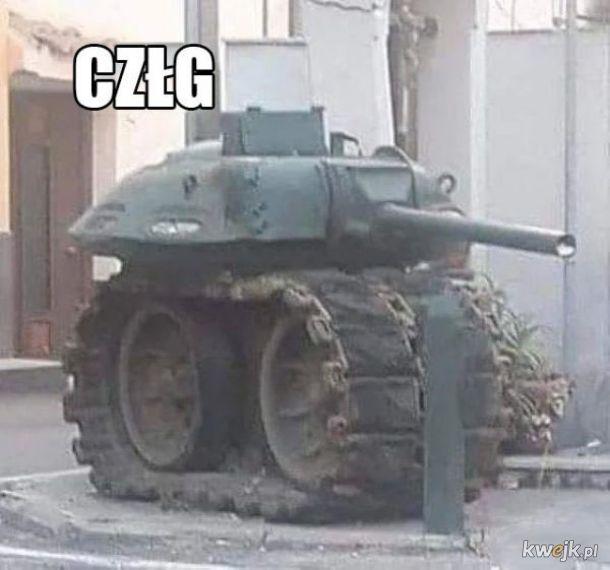 Dziwny czołg