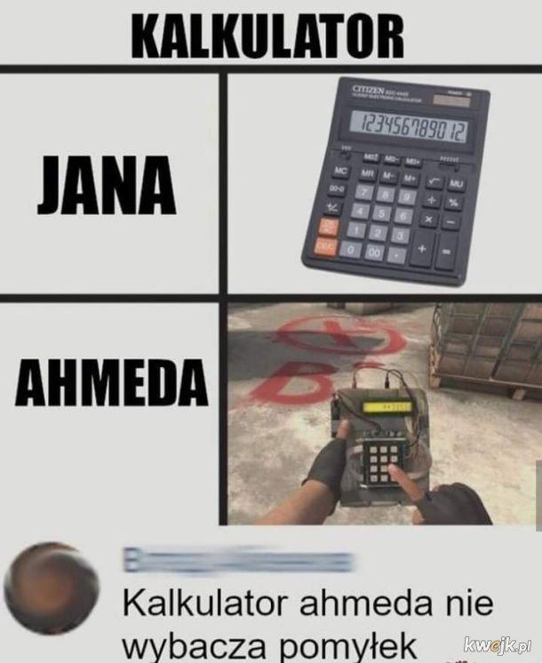Są dwa rodzaje kalkulatorów