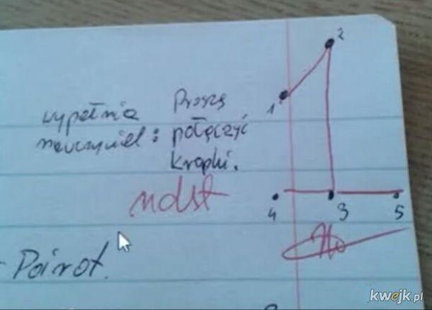 Śmieszek nauczyciel