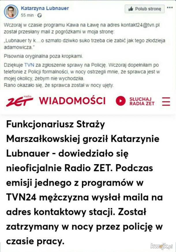 Marszałkowski morderca po godzinach...