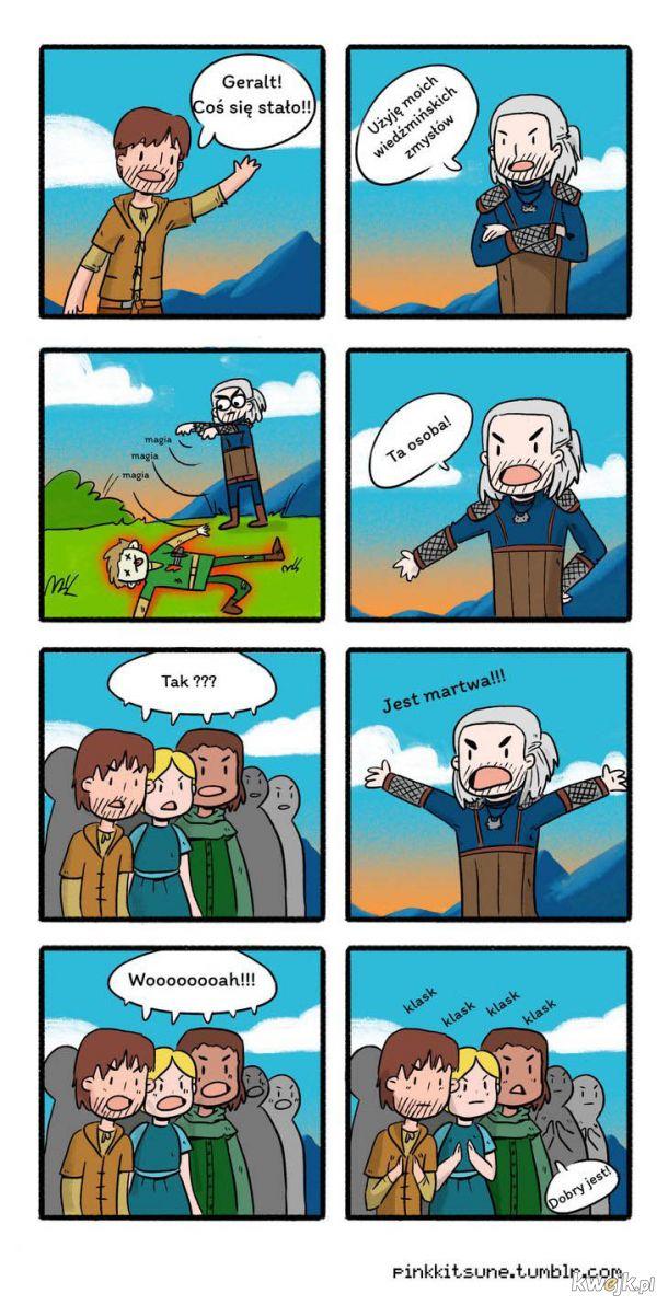 Super moc Geralta