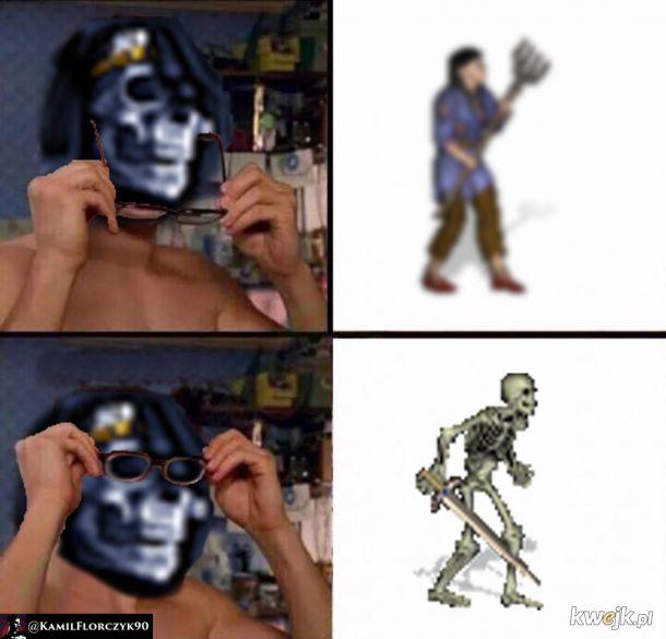 Heroes 3 szkielety
