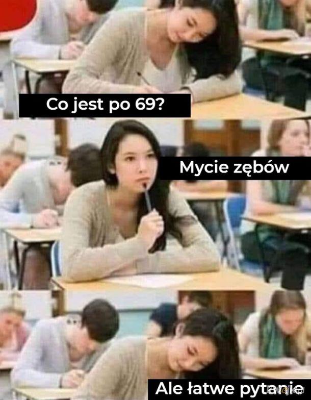 Co jest po 69?