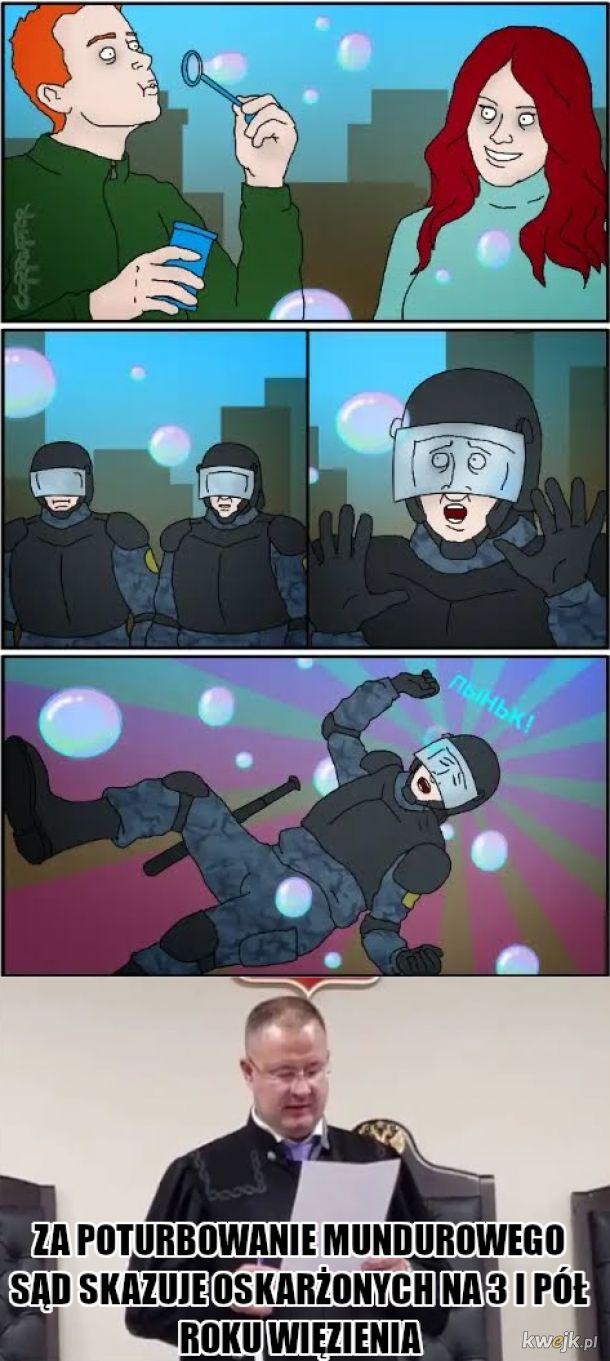 Policja w Rosji się komunizuje