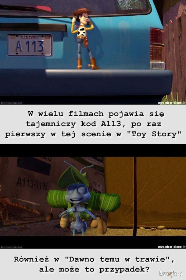 Tajemnice ukryte w filmach Pixara i Disneya