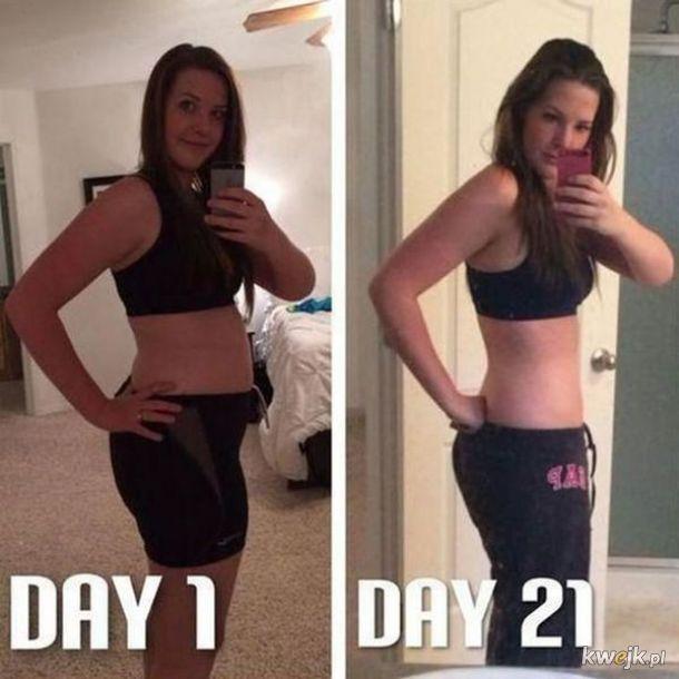 Wystarczy chcieć, czyli kobiety, które zaczęły trenować i prowadzić dietę