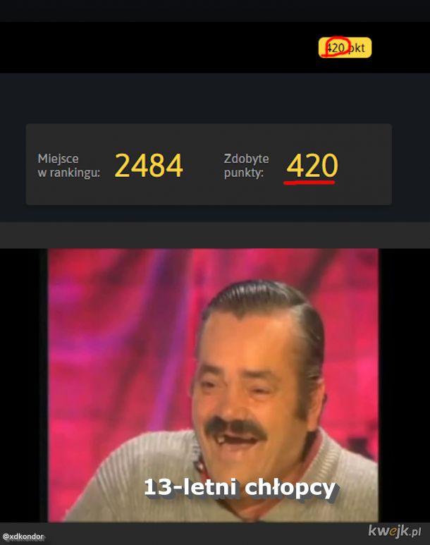 """Śmieszkowanie z """"420"""""""