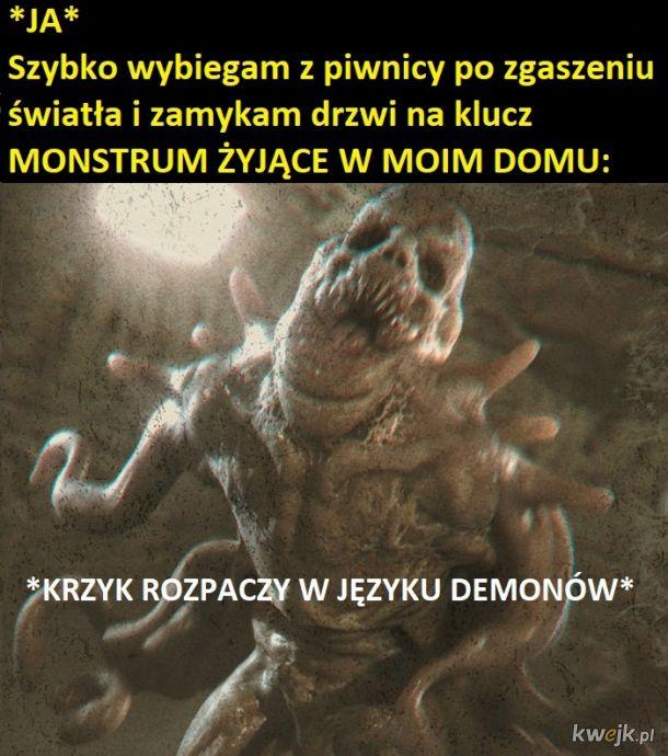 Potwór w piwnicy
