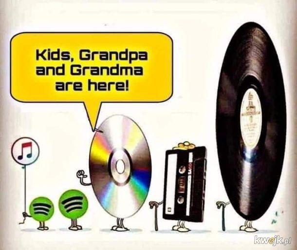 Zjazd rodziny muzycznej. Ciekawe ilu uczniów włączało kiedykolwiek magnetofon?