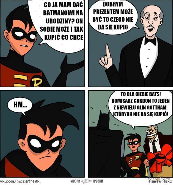 Prezent od Robina