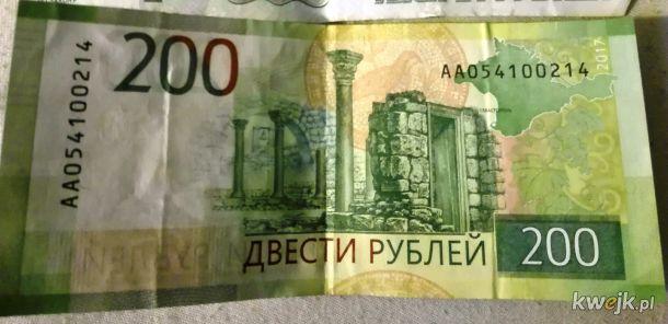 Tymczasem na 200 rublówkach:)