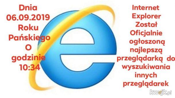 Internet Explorer nowe informacje