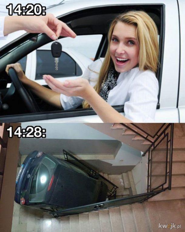 No to po samochodzie