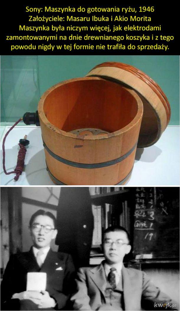 Pierwsze produkty znanych marek