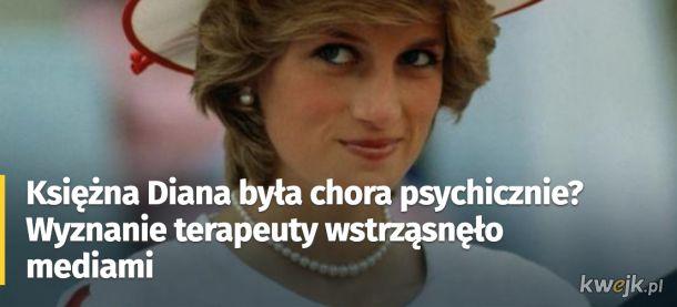Księżna Diana potrafi trząść mediami nawet wiele lat po śmierci