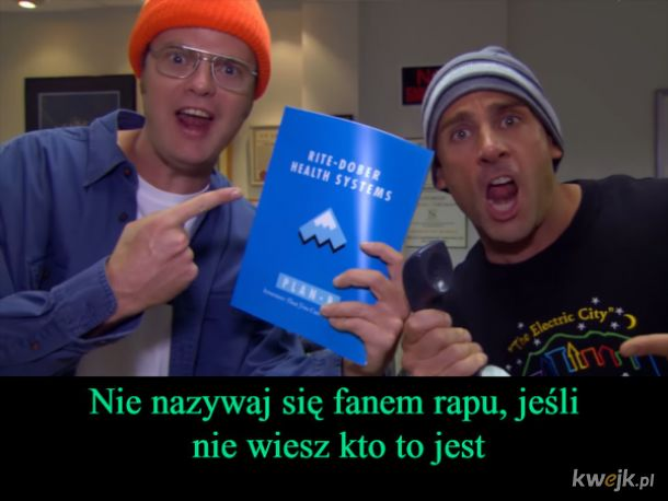 Rap the office