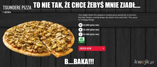 Nadpobudliwa pizza.
