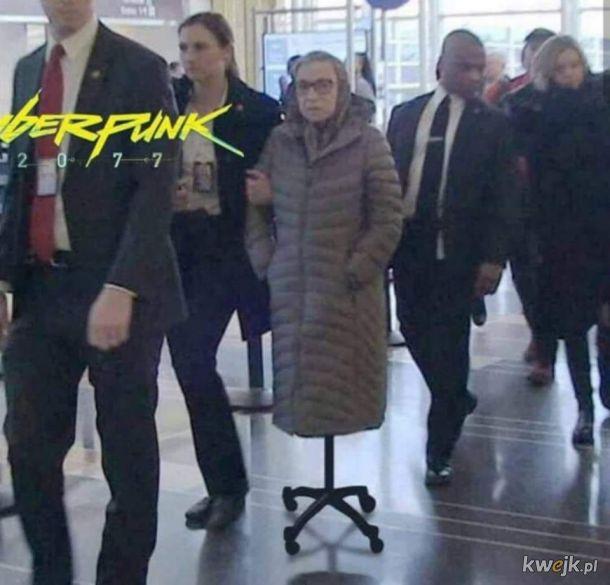 CyberBabcia 2077